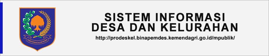 sistem Informasi desa kelurahan